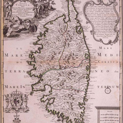 COVENS (Johannes) & MORTIER (Cornelis)  Insula Corsica, olim regni Titulo insign…