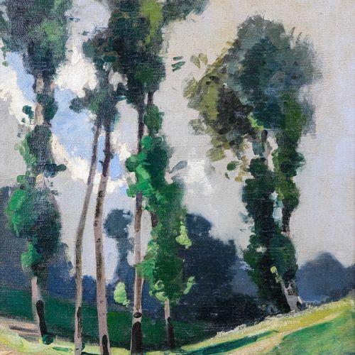 Lucien PERI (1880 1948)  Paysage aux pins  Huile sur toileSignée en bas à droit…