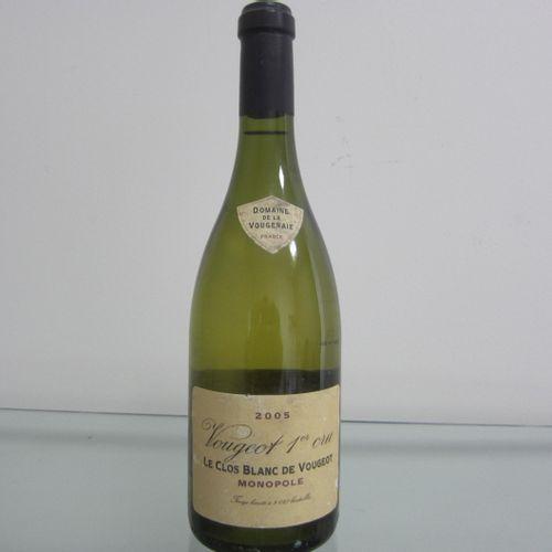Bourgogne, Vougeot 1er Cru 2005, Le Clos Blanc de Vougeot, Monopole,Domaine de l…