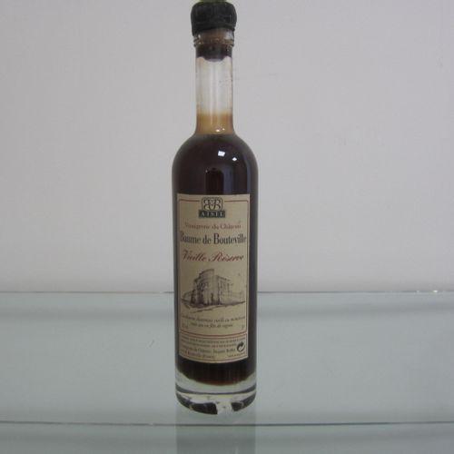 Baume de Bouteville, Vinaigre Vieille réserve, bouchonné à la cire, 20cl