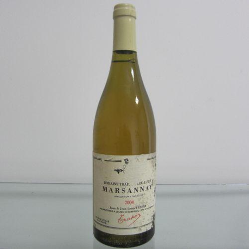 Bourgogne, Marsannay 2004, Domaine Trapet, étiquette moyenne, bon niveau