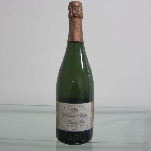 Champagne, Françoise Bedel, Cuvée L'Ame de la Terre, millésime 1998, étiquette c…