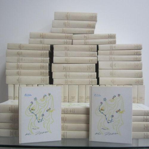 Ensemble de 60 volimes de la Collection des Prix Nobel de Littéraure, édité sous…