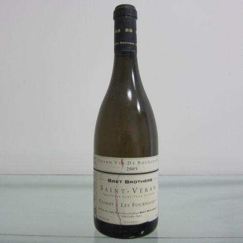 Bourgogne, Saint Véran, Climat les Fournaises 2005 par Bret Brothers, étiquette …
