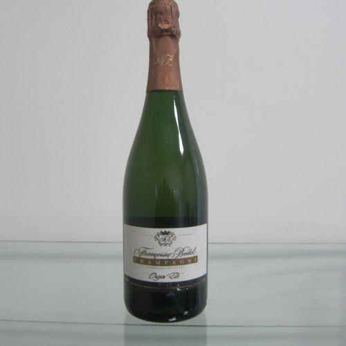 Champagne, Françoise Bedel, Cuvée Origin'Elle, brut, étiquette correcte