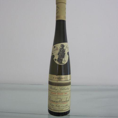 Alsace, Domaine Weinbach, Clos des Capucins, l'Inédit Cuvée Sainte Catherine, ri…