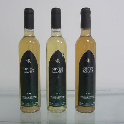 Côtes de Provence, Château Romanin 2007, étiquettes correctes, bon niveau, lot d…