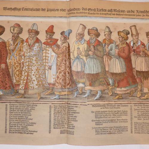 Russian embassy to the Emperor of the Holy Roman Empire Maximilian II in Regensb…