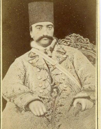 [NASER AL DIN SHAH QAJAR]: (1831 1896) King of Persia 1848 96. First Iranian mon…