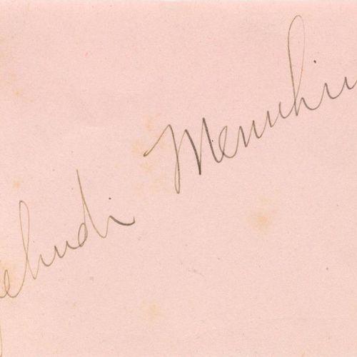 AUTOGRAPHS: A miscellaneous selection of signed pieces, cards, album pages etc.,…