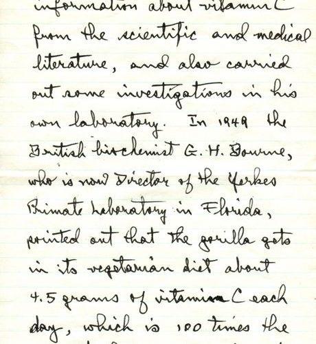PAULING LINUS: (1901 1994) American Chemist & Biochemist, Nobel Prize winner for…