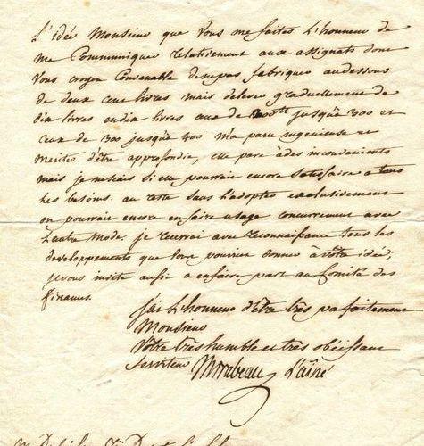 MIRABEAU HONORÉ COMTE DE: (1749 1791) Honoré Gabriel Riqueti. French Writer and …