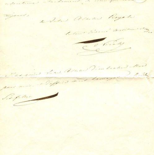 NICHOLAS I: (1796 1855) Emperor of Russia 1825 55. A good A.L.S., `Nicolas´, wit…