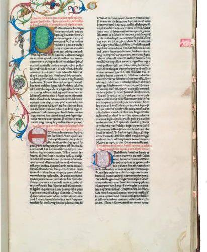 SAINT JERÔME EPISTOLAE [LETTRES] EDITION ÉTABLIE PAR ADRIANUS BRIELIS (MORT EN 1…