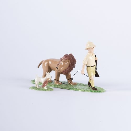 HERGÉ, Georges Rémi dit (1907 1983) Pixi 4561 Tintin series N°3. Tintin, Snowy a…