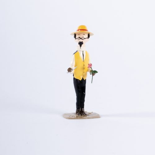 HERGÉ, Georges Rémi dit (1907 1983) Pixi 4551 Tintin series N°3. Sunflower with …