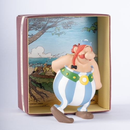 UDERZO, Albert (1927 2020) Leblon Delienne, Obelix flower, polychrome resin figu…