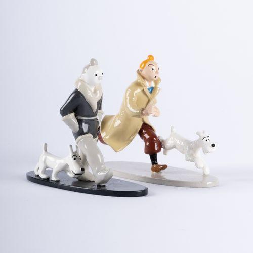 HERGÉ, Georges Rémi dit (1907 1983) Moulinsart Plomb/Collection Classique Double…
