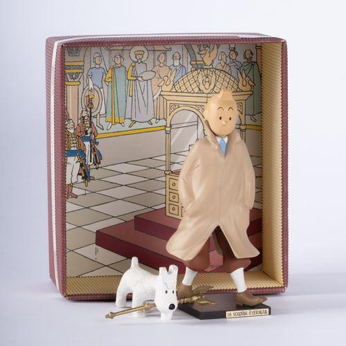 """HERGÉ, Georges Rémi dit (1907 1983) Leblon Delienne, Tintin and Snowy """"Le Sceptr…"""