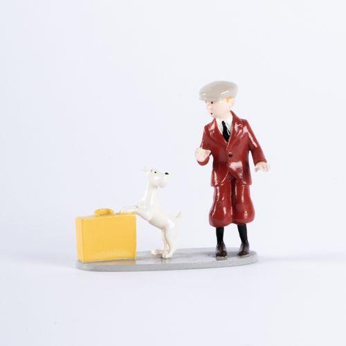 HERGÉ, Georges Rémi dit (1907 1983) Pixi 4545 Tintin series N°3. Tintin and Snow…