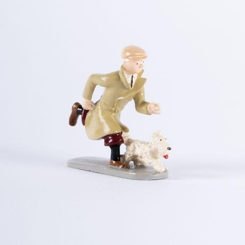 HERGÉ, Georges Rémi dit (1907 1983) Pixi 4521 Tintin series N°2. Tintin, running…