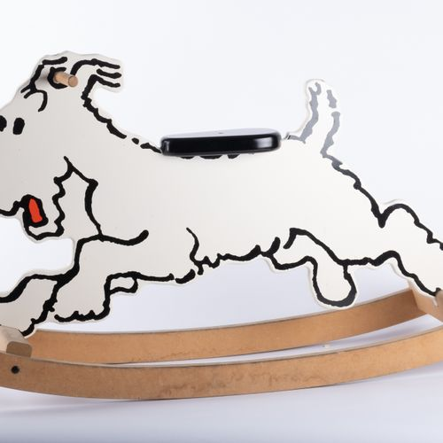 HERGÉ, Georges Rémi dit (1907 1983) AROUTCHEFF, Tintin, Tilting Snowy Ref. HJ.01…