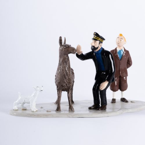 HERGÉ, Georges Rémi dit (1907 1983) Pixi 4573 Tintin series N°3. Haddock, Tintin…