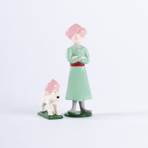 HERGÉ, Georges Rémi dit (1907 1983) Pixi 4523 Tintin series N°2. Tintin and Snow…