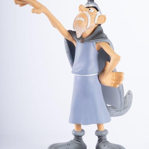 UDERZO, Albert (1927 2020) Leblon Delienne, Le Devin, Polychrome resin figurine …