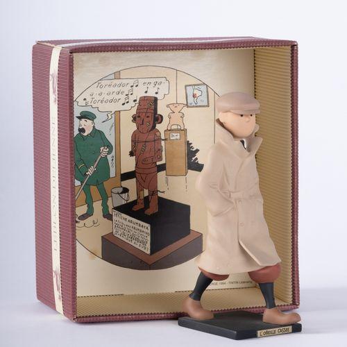HERGÉ, Georges Rémi dit (1907 1983) Leblon Delienne, Tintin l'Oreille Cassée Pol…