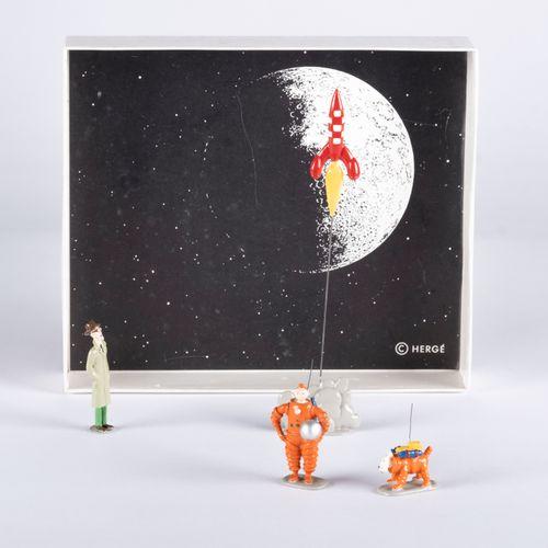 HERGÉ, Georges Remi dit (1907 1983) Pixi Tintin série N°1 Intermédiaire (1989), …