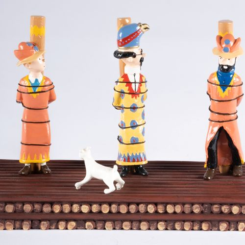 HERGÉ, Georges Remi dit (1907 1983) Pixi Tintin série N°3 (1994), Réf.4554 / 4, …