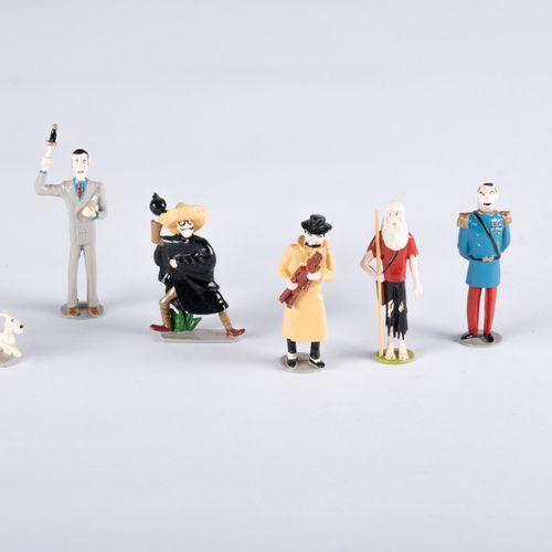 HERGÉ, Georges Remi dit (1907 1983) Pixi Tintin série N°1 (1988), Réf.4411, L'OR…