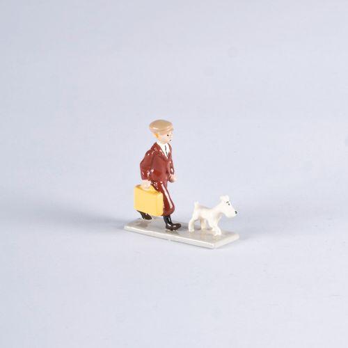 HERGÉ, Georges Remi dit (1907 1983) Pixi Mini Tintin à la valise 1ère Collection…