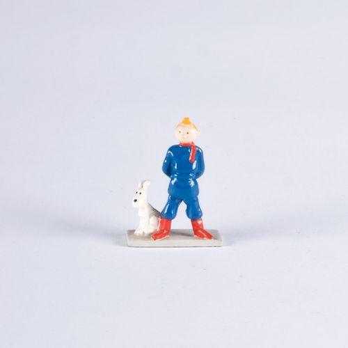 HERGÉ, Georges Remi dit (1907 1983) Pixi Mini Tintin Soviet 1ère Collection (199…