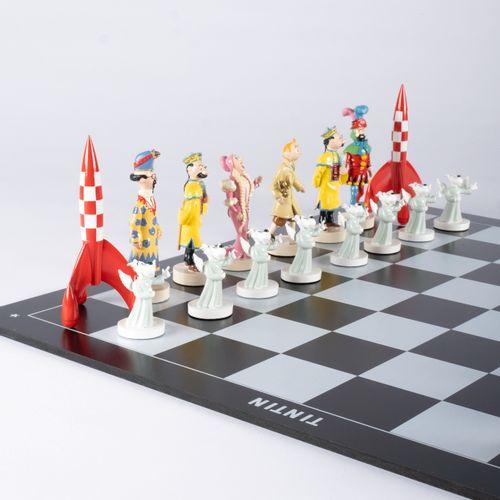 HERGÉ, Georges Remi dit (1907 1983) Pixi – Jeu d'échecs (1995), Réf.40530, Le Je…