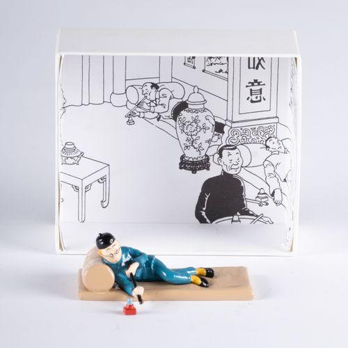 HERGÉ, Georges Remi dit (1907 1983) Pixi Tintin série N°3 (1994), HS01, LE LOTUS…