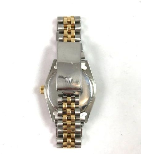 "Rolex gold and steel Oyster perpetual ""medium"" Circa 1975 ROLEX Rolex wristwatch…"