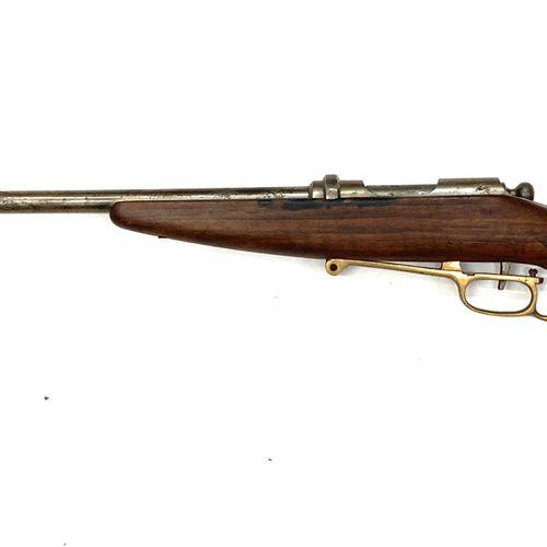Amusante carabine de chasse mono coup, à système d'armement par basculement du p…
