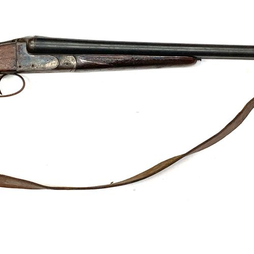 Fusil de chasse hammerless, fabrication artisanale stéphanoise, bascule droite j…