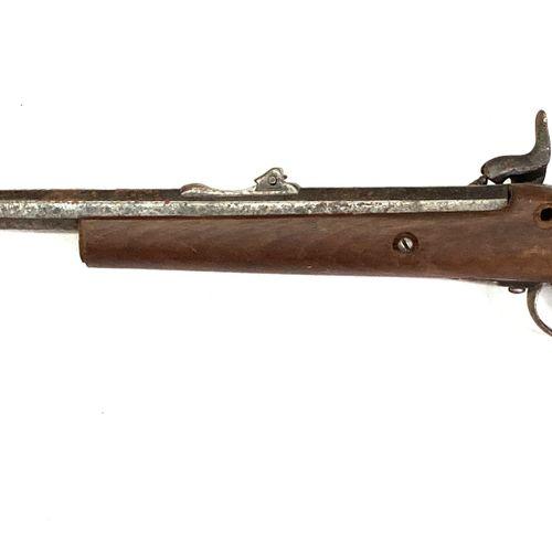 Mousqueton issu d'un fusil réglementaire, platine à percussion, canon octogonal …