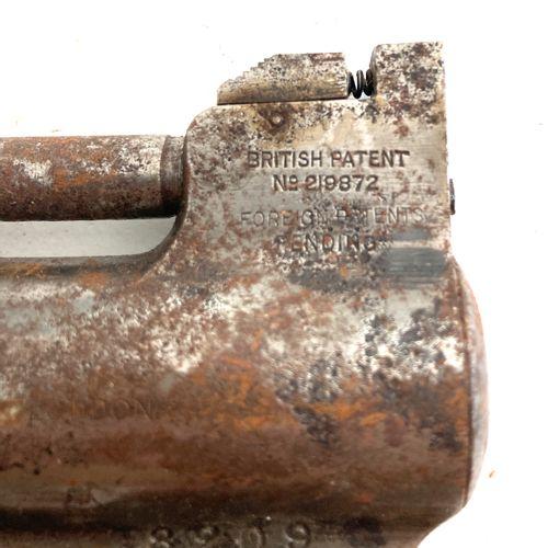 Pistolet à air comprimé « WEBLEY AIR PISTOL Mk I », canon rayé, mécanisme foncti…