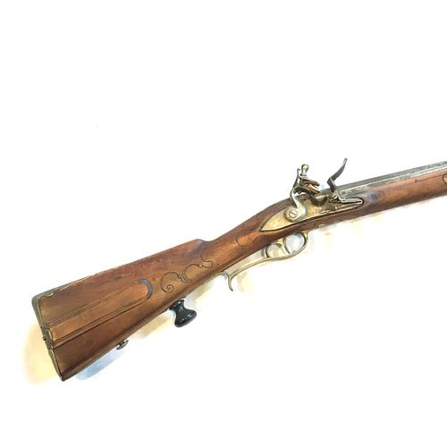 Schindler in Brünn Carabine autrichienne, canon rayé, marqué N°5 sur la queue de…