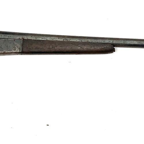 Fusil de chasse mono coup SIMPLARM DÉPOSÉ, modèle à rempart, ouverture par ponte…