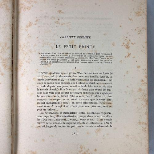 FILON Augustin Le prince Impérial, souvenir et documents (1856 1879)