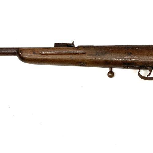 Carabine mono coup à verrou calibre 6 mm, modèle P.N.F., canon rayé de 57 cm, av…