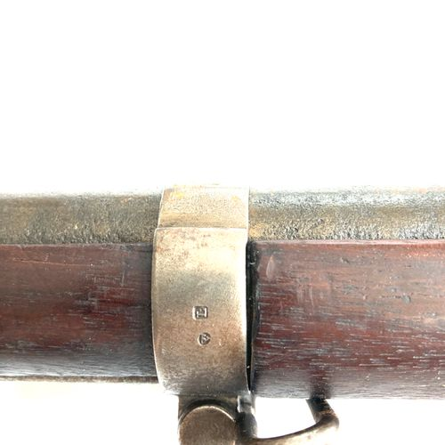 Fusil réglementaire modèle 1822 T bis, canon rayé de 103 cm, platine a silex tra…