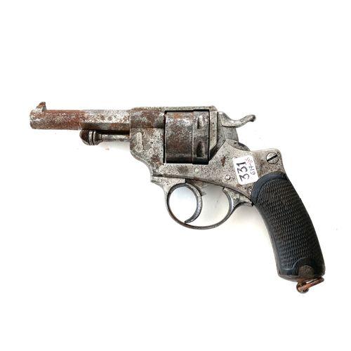Revolver réglementaire modèle 1873, canon rayé de 11,5 cm, marqué « M.1873 » et …