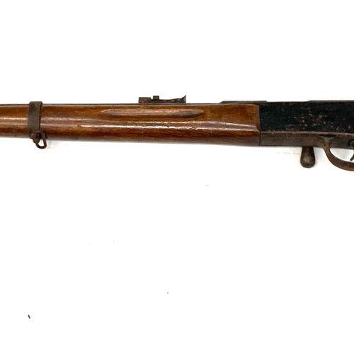 Carabine scolaire d'entrainement mono coup type Lebel 1886 calibre 6 mm, canon r…