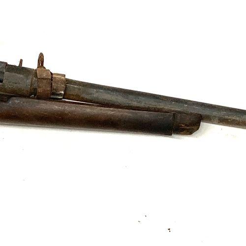 Mécanisme de fusil réglementaire GRAS modèle 1874 transformé chasse, avec une cr…